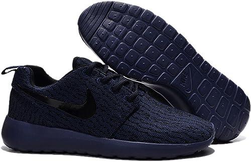Nike Roshe Run Mens Navy Blue Black