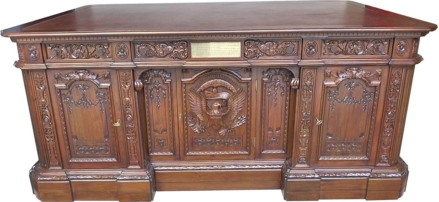 white house oval office desk. Amazon.com: White House Oval Office President Resolute Desk: Kitchen \u0026 Dining Desk G