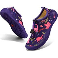 KVbabby Zapatos de Agua Descalzo para Niño Niña Calcetines de Natación Antideslizante Zapatos de Playa Zapatillas de…