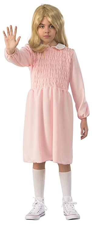Rubie's 700032_L Stranger Things Child's Season 1 Eleven Dress, Large
