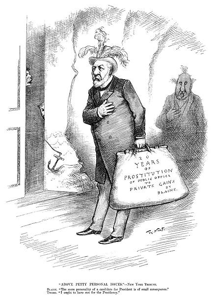 Amazon Com Presidential Campaign 1884 Na Thomas Nast