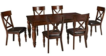 Exceptionnel Intercon Kingston 7 Piece Mango Wood Dining Set
