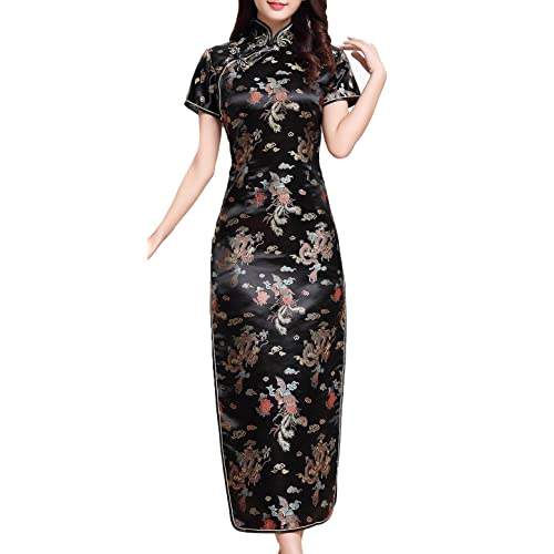 UK Stock Womens Chinese Dress