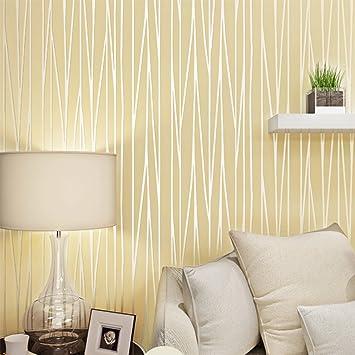 Kinlo Self-Adhesive Modern Wallpaper, 3D Textured Non-Woven Fabrics ...