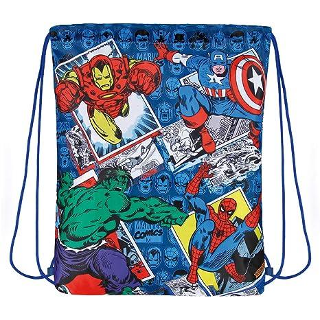 Saco Deporte Niño Avengers Marvel Comics - Bolsa de Zampatos ...