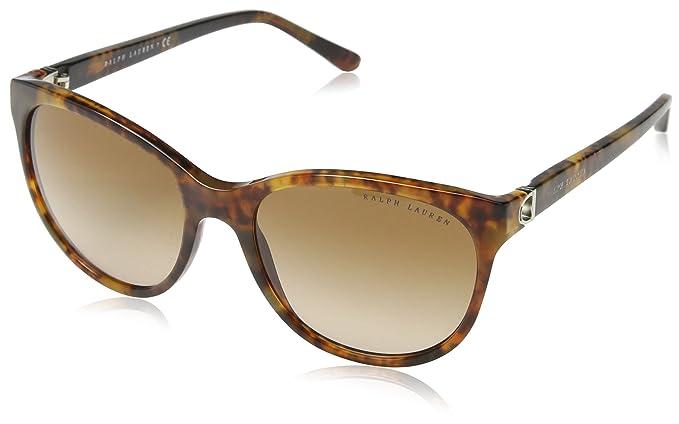 Ralph Lauren Damen Sonnenbrille » RL8135«, schwarz, 500187 - schwarz/grau