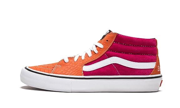 9cc94604b6 Amazon.com  Vans Sk8-Mid Pro (Supreme)  Shoes