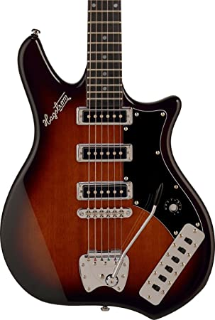Guitarra eléctrica hagstrom condor - brown burst