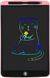 Tableta Gr/áfica Rosa Port/átil Tableta de Dibujo Pizarra de Mensaje Memo Pad Electr/ónico Regalos Adecuada para el hogar Escuela Oficina Coovee Tableta de Escritura LCD 10 Pulgadas