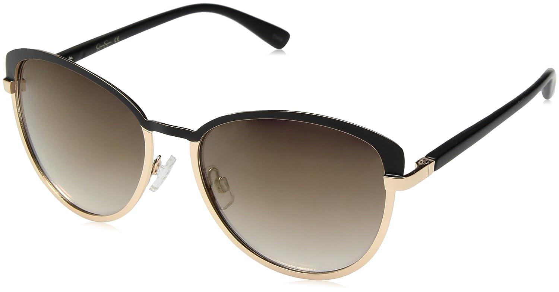 b6be59d589 Amazon.com  Jessica Simpson Women s J5316 Oxgd Iridium Cateye Sunglasses