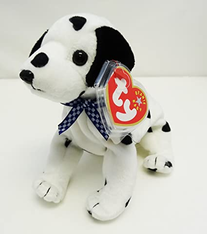 9705d53861f Image Unavailable. Image not available for. Color  TY Beanie Baby - DIZZY  the Dalmatian  CANADA VERSION  (Black Spots ...