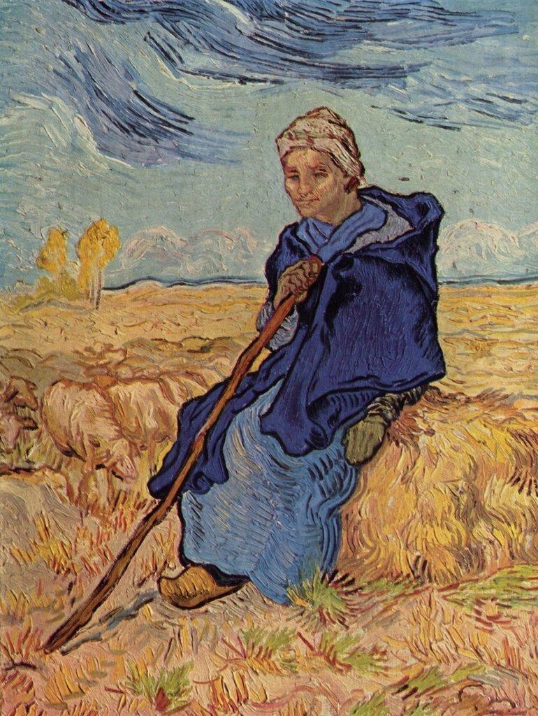 Lais Puzzle Vincent Willem van Gogh - Die Hirtin 2000 Teile