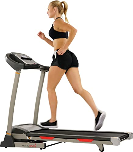 Sunny Health Fitness Portable Treadmill