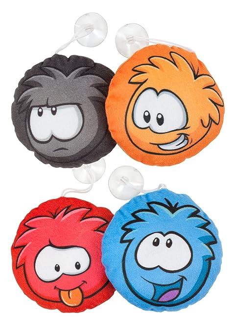 Amazon.com: Character World Disney Club Penguin Puffle 4pk ...