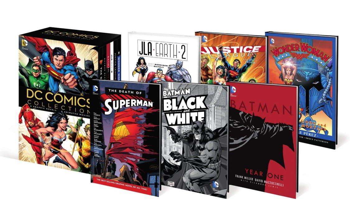 DC Comics Book & DVD Slipcase Set pdf epub