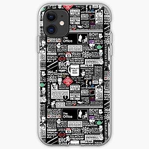 Dwight Michael The Halpert Steve Dunder Jim Carell Mifflin Office Pam Schrute Scott Beesly - Phone Case for iPhone 11, iPhone 11 Pro, iPhone XR, iPhone 7/8/SE 2020, Samsung Galaxy