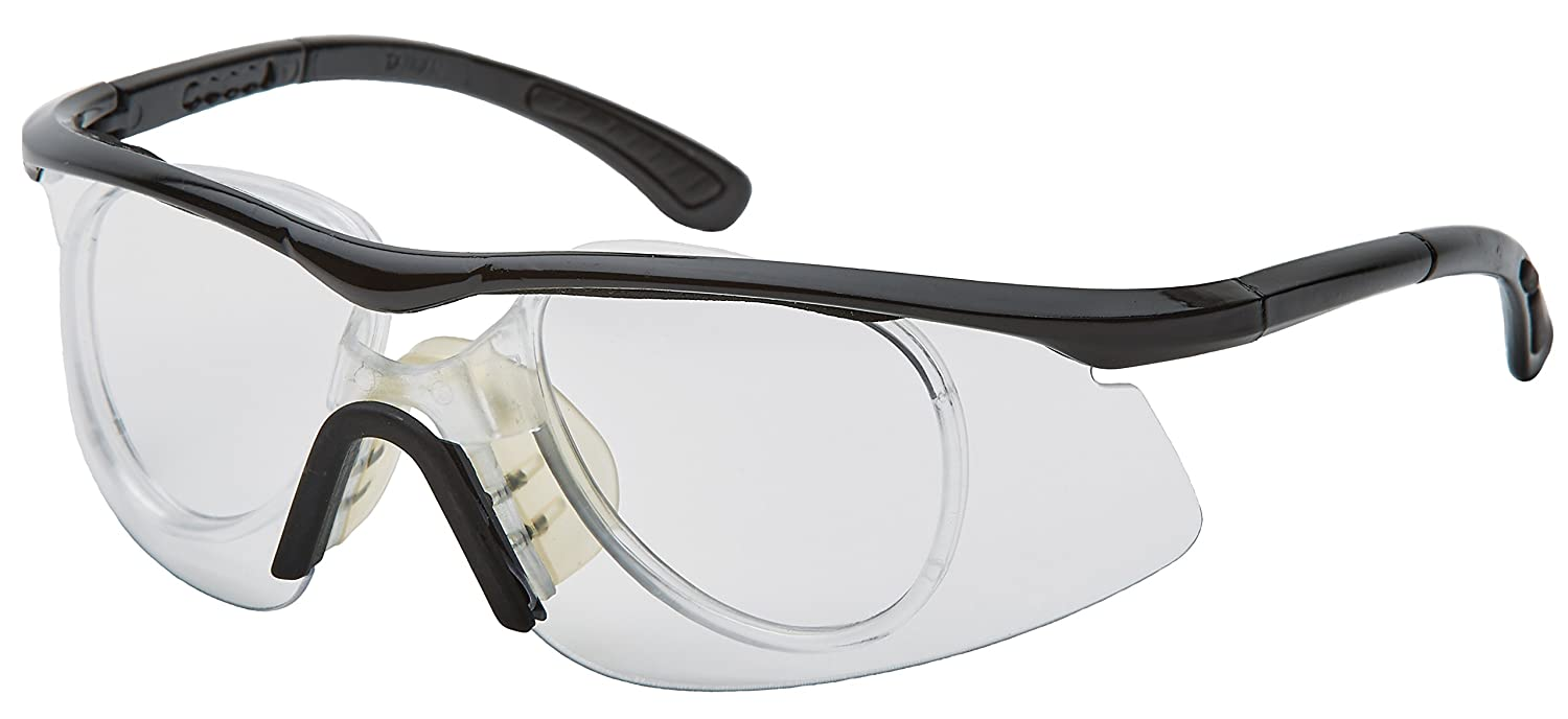 32df3233fc Amazon.com   Unique Sports Clear Protective Sports Eyewear with Prescription  Adapter   Sports   Outdoors
