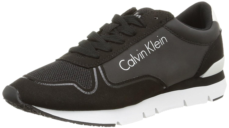 TALLA 40 EU. Calvin Klein Tori Reflex Nylon/Microfiber - zapatillas de sintético para mujer