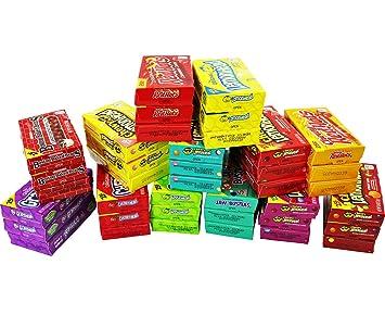 A Great Surprise Cajas individuales de caramelo mezcla de Ferrara dulces favoritos - Lemonhead, Applehead, Cherryhead, Hots rojo: Amazon.es: Hogar