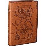 Bíblia das Descobertas para Adolescentes - Couro sintético Marrom claro: Nova Tradução na Linguagem de Hoje (NTLH)