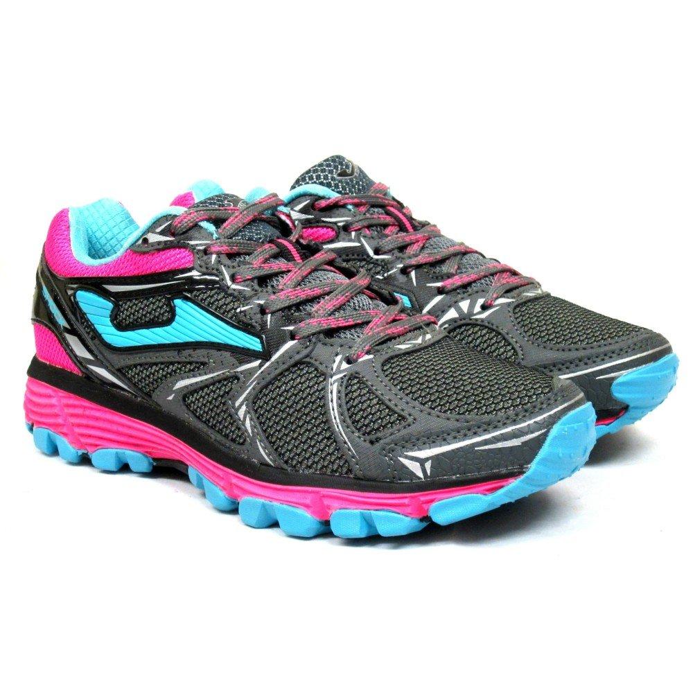 Joma Shock Lady, Zapatillas de Trail Running para Mujer (Gris 712) 37 EU TK.SHOLS-712