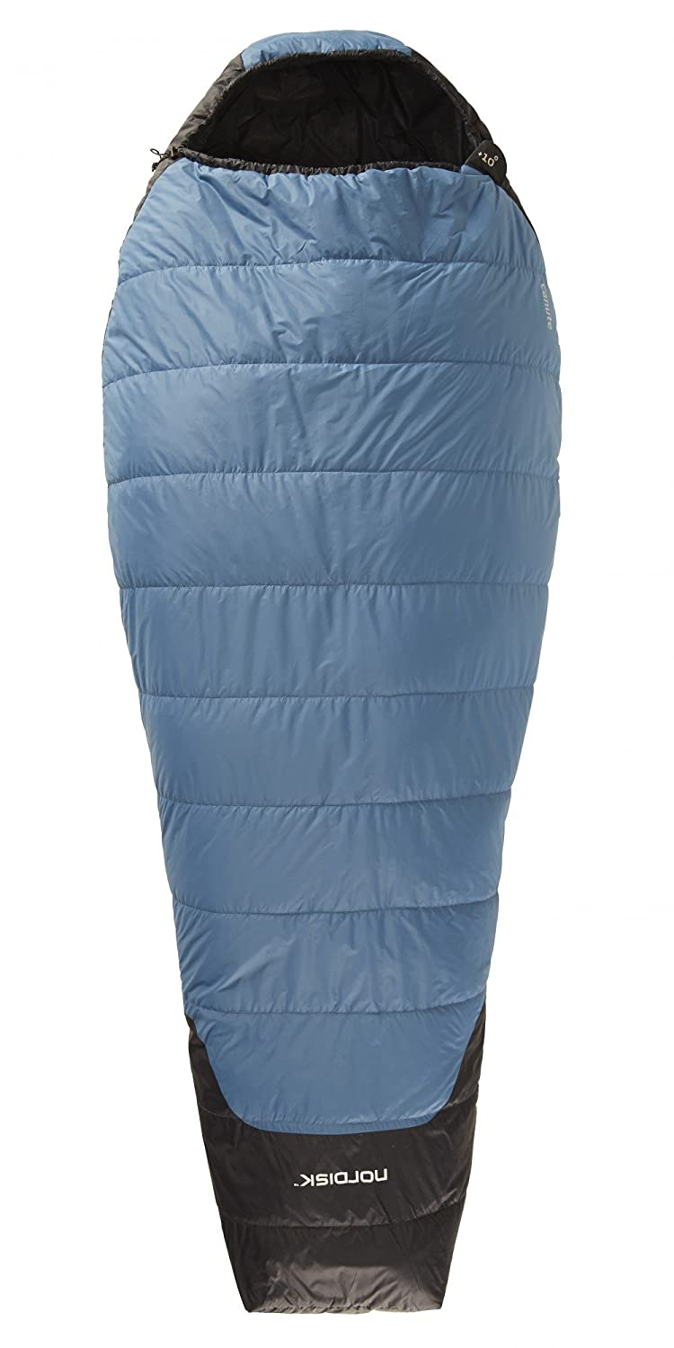 Nordisk Canute +10° Sleeping Bag XL real teal/black 2016 Mumienschlafsack
