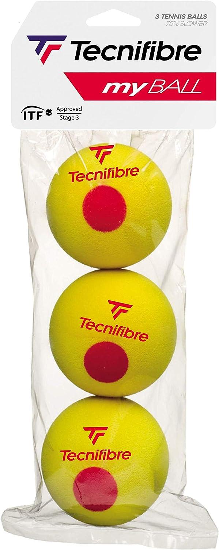 Tecnifibre - Bolsa de 3 pelotas My Ball