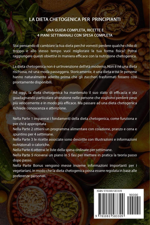 dieta chetogenica settimanale cardapio