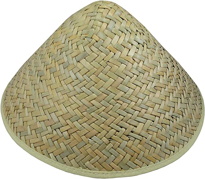 Chinese Oriental Vietnamese Coolie Straw Bamboo Sun Farmer Fishing Rice Hats hot