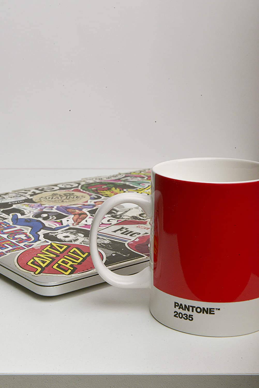 fine China Coffee//Tea Cup Copenhagen design Pantone Mug Ceramic 375 ml 3435 C Dark Green Porcellana One Size