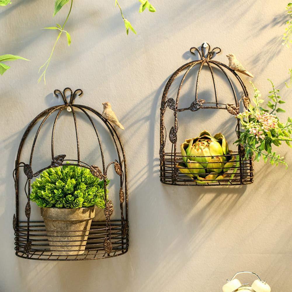 Yunfeng Soporte de Flores, Plantas decoración balcón Hierro ...