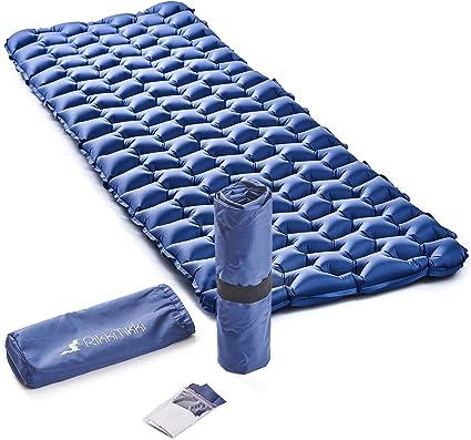 Amazon.com: Ligero inflable dormir Pad – mejor almohadilla ...
