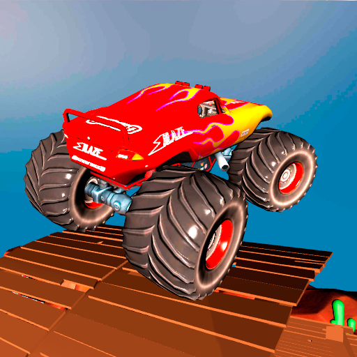 Monster Truck - Sky Race (Blaze And The Monster Machines Sky Track Game)