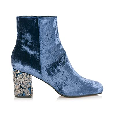 9d6c5a734b3f81 Les Trois Garcons Women s Boots Blue Size  5  Amazon.co.uk  Shoes   Bags
