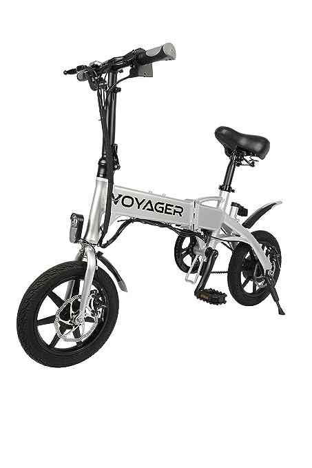 Amazon.com: Voyager Flybrid - Bicicleta eléctrica compacta y ...