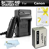 Amazon Com 2 Pack Battery And Charger Kit For Sony Cyber