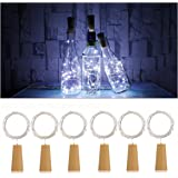 Led Table Lamps Lights & Lighting Trend Mark Cork Shaped Wine Bottle Stopper String Lights 2 Meters 20 Leds Silver Copper Wire Diy Christmas Halloween Wedding Party Crafts In Short Supply
