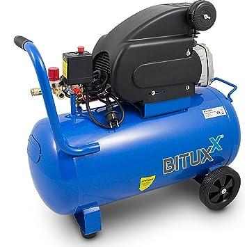 bituxx® Compresor De Aire Comprimido Compresor De Aire Comprimido Aumentador Kühlschrank 2PS Impresión hasta 8 bar: Amazon.es: Bricolaje y herramientas