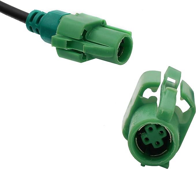 StepWorlf Adattatore Bluetooth Kit per auto compatibile per BMW E60 E90 E81 E65 E66 AUX con cavo audio e microfono MA2266