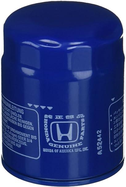 Amazon.com: Honda 15400-PLM-A02 - Filtro de aceite: Automotive