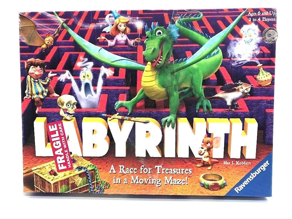 A Race for Treasures in a Moving Maze Hot Wheels 8062 Labyrinth