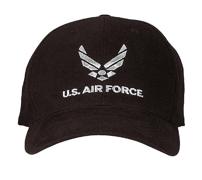 U.S. Air Force Military Supreme Perfil Bajo Bordado Insignia Cap/Gorra De Béisbol: Amazon.es: Deportes y aire libre