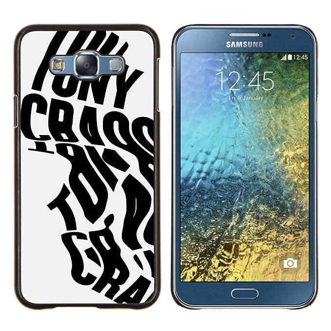 For Samsung Galaxy E7 E700 Case , Palabras de la caligrafía ...