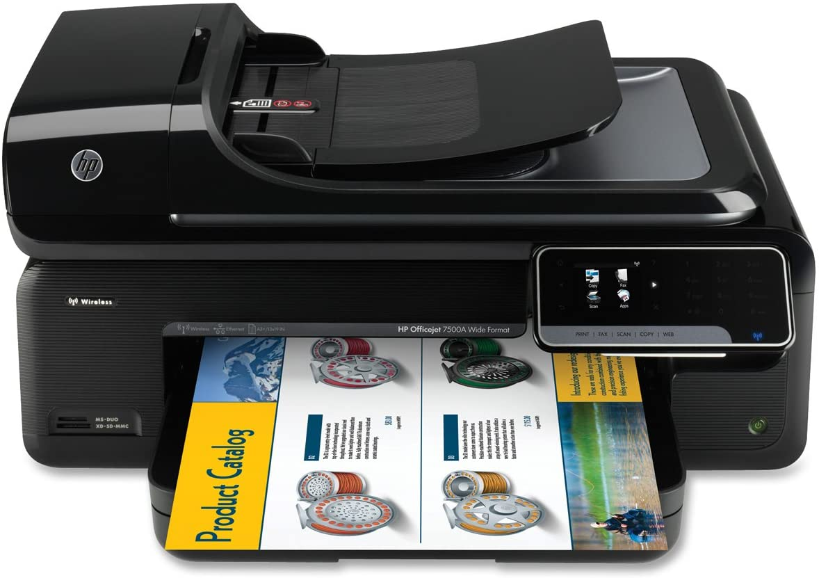 HP Officejet 7500A Wide Format e-All-in-One E910a (C9309A#B1H),Black