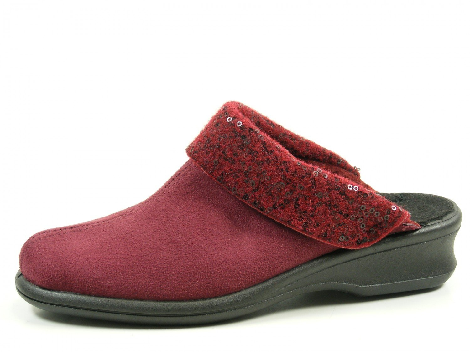 Rohde Rouge 2504 Farun Farun femmes Chaussons Chaussons Rouge 7d795b9 - latesttechnology.space