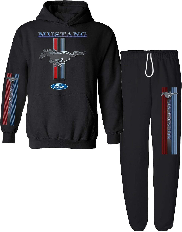 Ford Mustang Pony Car Men/'s sweats tracksuit jogging Lounge pants sweatpants NEW