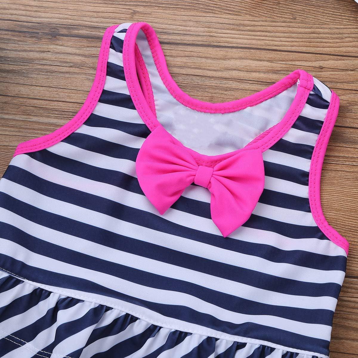 iiniim Baby M/ädchen Tankini Bikini Einteiler Badeanzug Polka Dots Schwimmanzug Bademode
