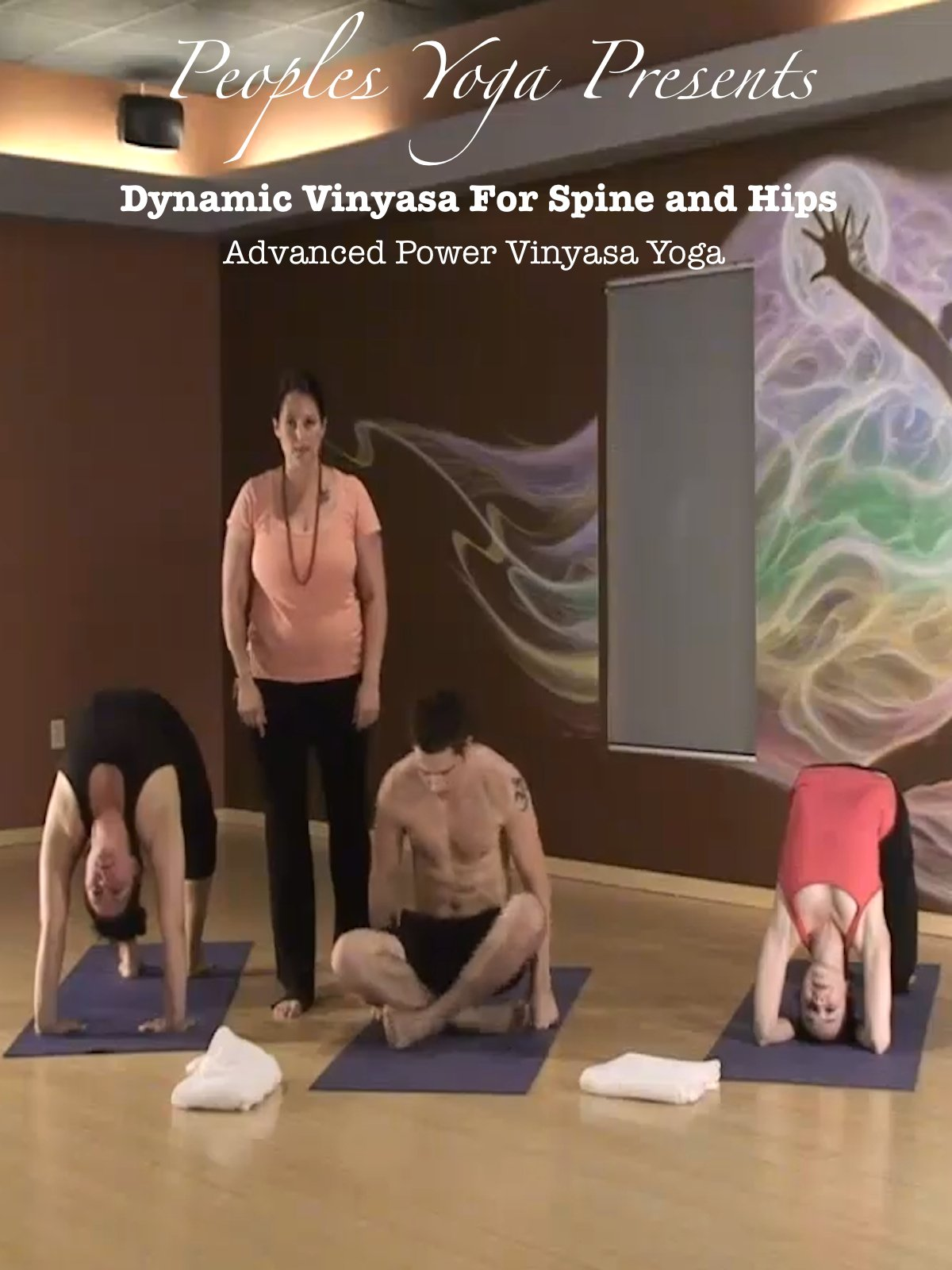 Amazon.com: Peoples Yoga Presents; Dynamic Vinyasa for Spine ...