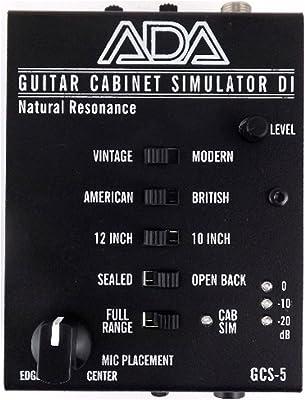 ADA GCS-5 Guitar Cabinet Simulator review