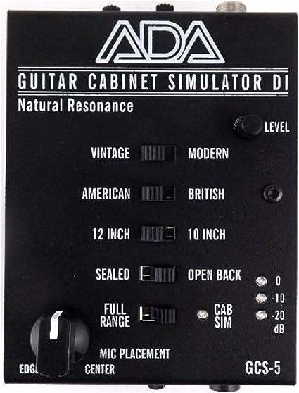 ADA GCS-5 Simulador de gabinete de guitarra: Amazon.es ...